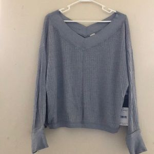 Free people south side thermal NWT small